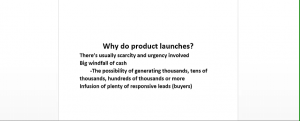 Product Launch PLR 300x121 Product Launch Anatomy