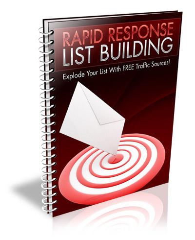 RapidResponseListBuilding Rapid Response List Building