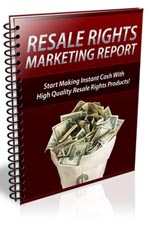 ResaleRightsReport plr Resale Rights Marketing Report – Free Download
