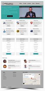 SimpleBizzWPTheme pdev SimpleBizz Wordpress Theme