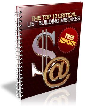 TheTop10CriticalListBuildingMistakes The Top 10 Critical List Building Mistakes