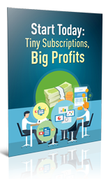 TinySubscrBigProfits plr Tiny Subscriptions Big Profits