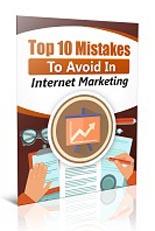 Top10MistakesInIM plr Top 10 Mistakes To Avoid In Internet Marketing