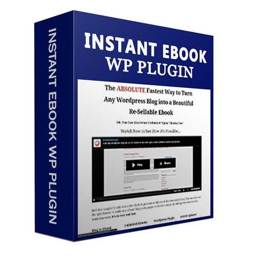 WP Instant Ebook WP Instant Ebook Plugin
