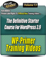 WP39TrainingVideos mrr Wordpress 3.9 Training Videos