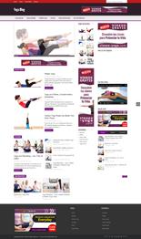 YogaBlog p Yoga Niche Blog