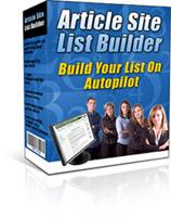 articlesitelist box s Article Site List Builder