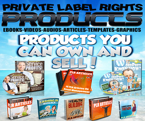 Get PLR & MRR Products
