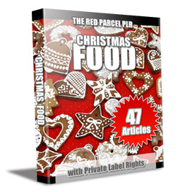 christmas plr articles food 47 Christmas Food PLR Articles