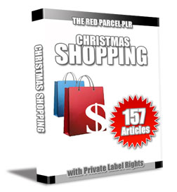 christmas plr articles shop 157 Christmas Shopping PLR Articles