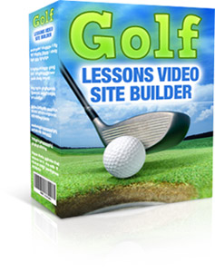 golflessons box300.jpg Golf Lessons Video Site Builder