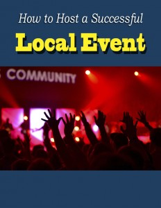 local events  232x300 How to Host a Successful Local Event