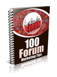 report 3 224x300 100 Forum Marketing Tips