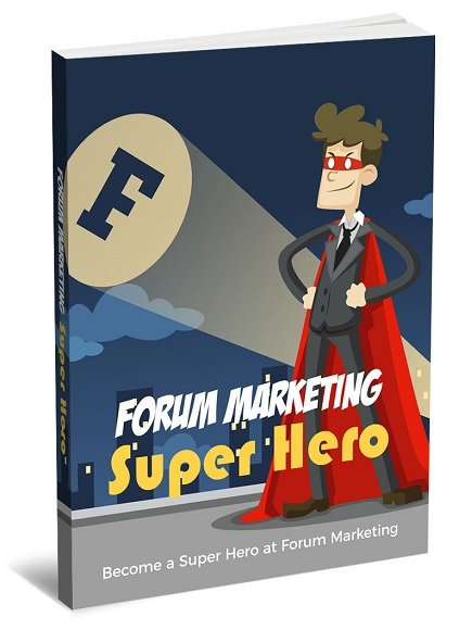 Forum Marketing Super Hero Forum Marketing Super Hero